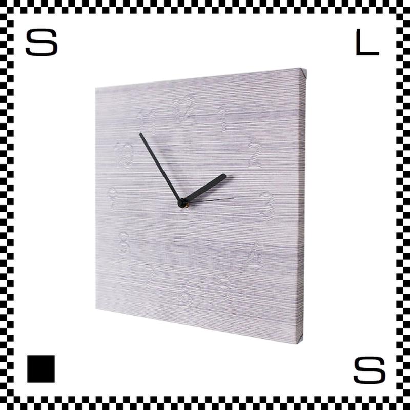 CLOUDY W30/D2/H30cm 雲のようにわずかに見える文字盤 ウォールクロック 壁掛け時計 スイープクオーツ使用 日本製
