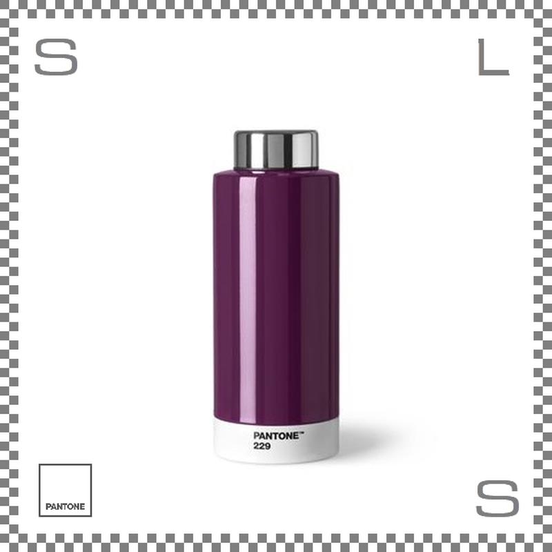 PANTONE パントン ドリンクボトル スチール ヴァイオレット 630ml Φ74/H190mm ステンレスボトル 魔法瓶