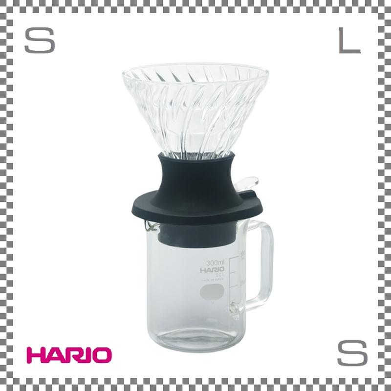HARIO ハリオ 浸漬式ドリッパー スイッチ サーバーセット W130/D115/H215mm 耐熱ガラス製 日本製 ssd-5012-b