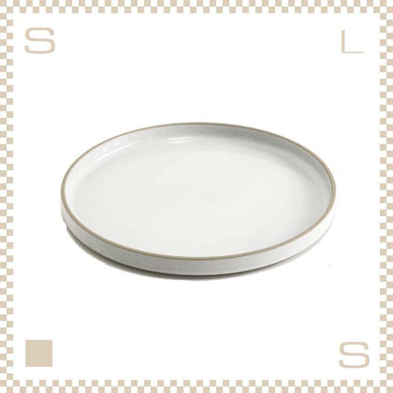 ハサミポーセリン プレート 直径255mm クリア グロス Φ255/H21mm スタッキング可 HPM005 Hasami Porcelain