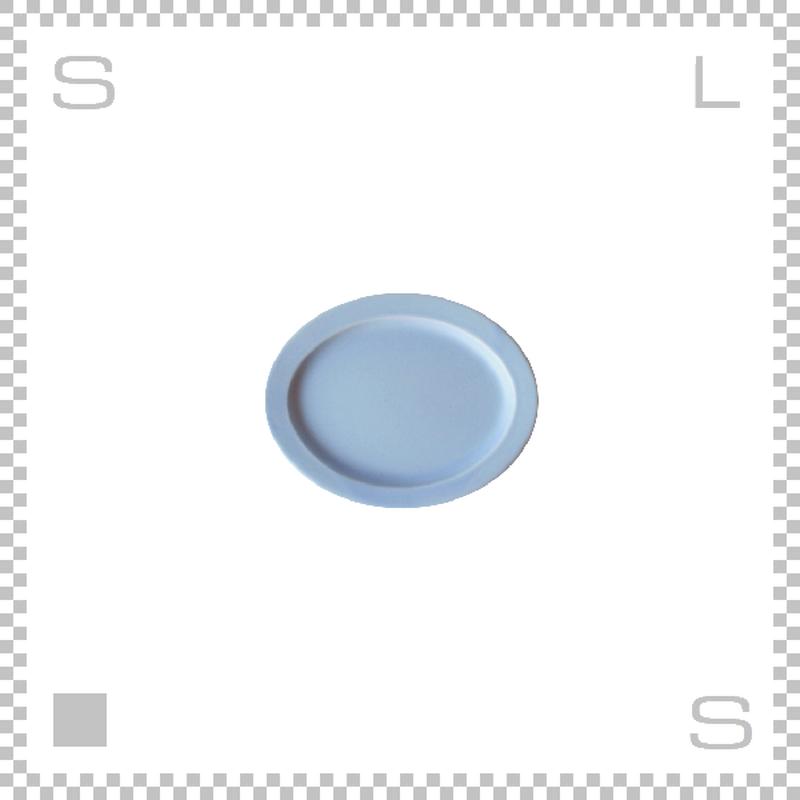 SAKUZAN サクザン SARA サラ オーバルプレート Sサイズ ライトブルー W130/D103/H12mm パステルカラー 日本製