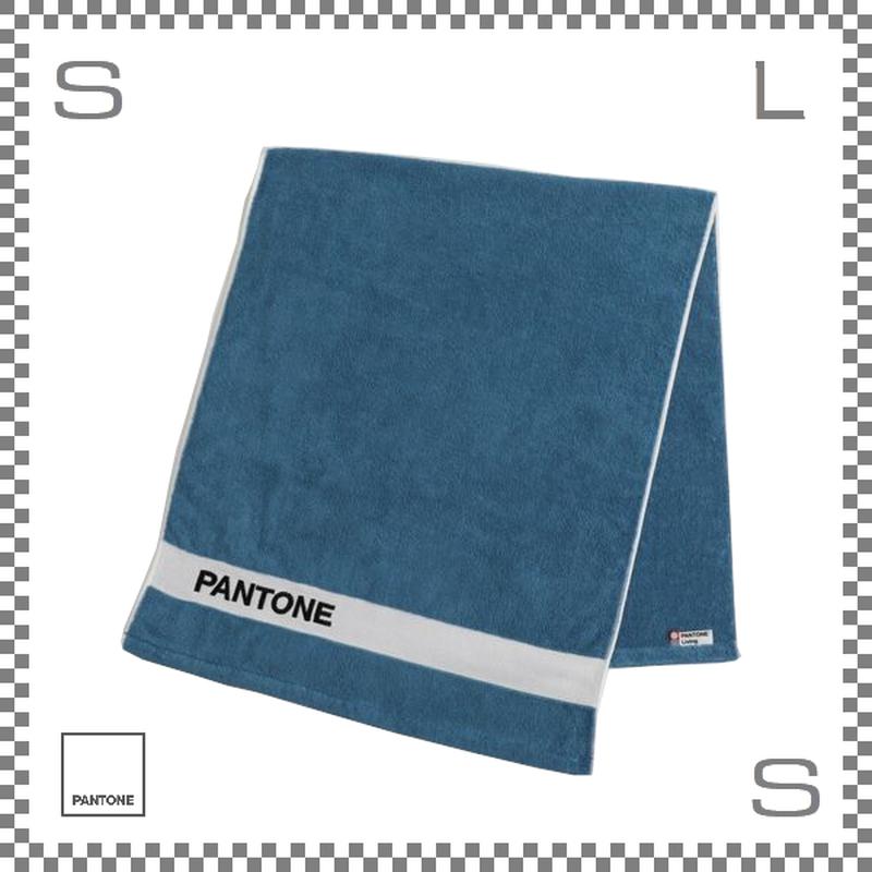 PANTONE パントン バスタオル ブルー 120×50cm コットン製 今治タオル製 日本製