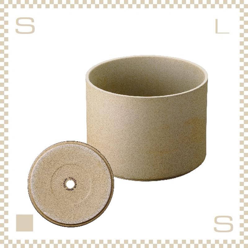 ハサミポーセリン プランター ナチュラル Φ145/H106mm スタッキング可 底穴付き HP045 Hasami Porcelain