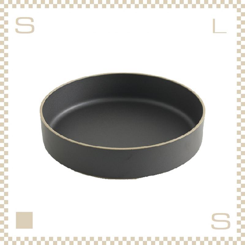 ハサミポーセリン ボウル 直径255mm ブラック Φ255/H55mm スタッキング可 HPB011 Hasami Porcelain