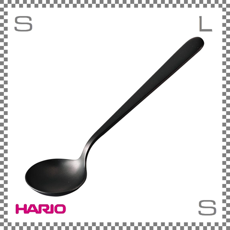 HARIO ハリオ カッピングスプーン 粕谷モデル W166/D44/H26mm テイスティングスプーン ステンレス製 日本製 kcs-1-mb