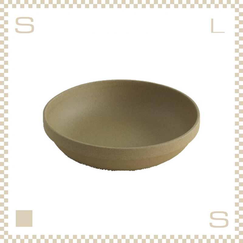 ハサミポーセリン ラウンドボウル 直径220mm ナチュラル Φ220/H55mm スタッキング可 HP033 Hasami Porcelain