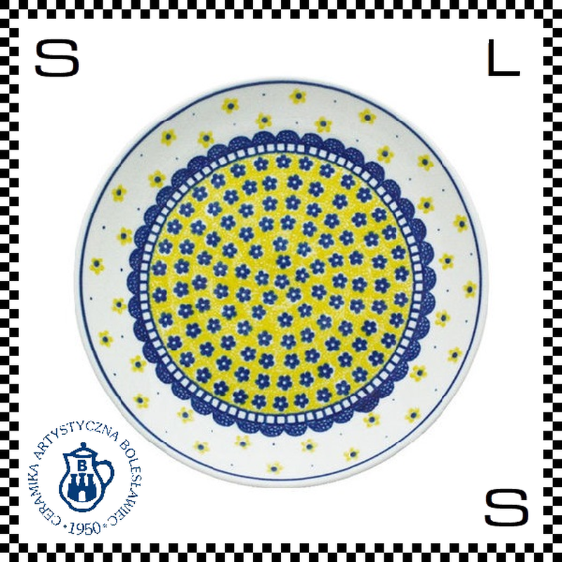 Ceramika Artystyczna ツェラミカ アルティスティチナ No.240 プレート 24cm Φ24/H3cm ストーンウェア オーブン可 ハンドメイド ポーランド製