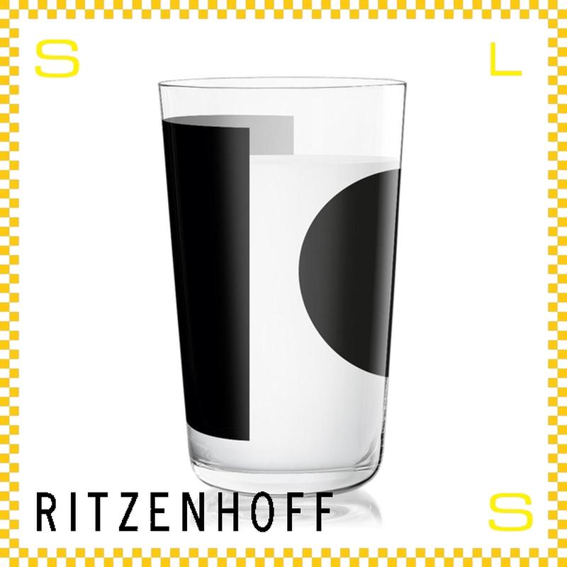 RITZENHOFF リッツェンホフ ミルクグラス 250ml スクエア&サークル ピエール・シャルピン Φ77/H128mm タンブラー 円と四角 ギフト  ritz-3500002