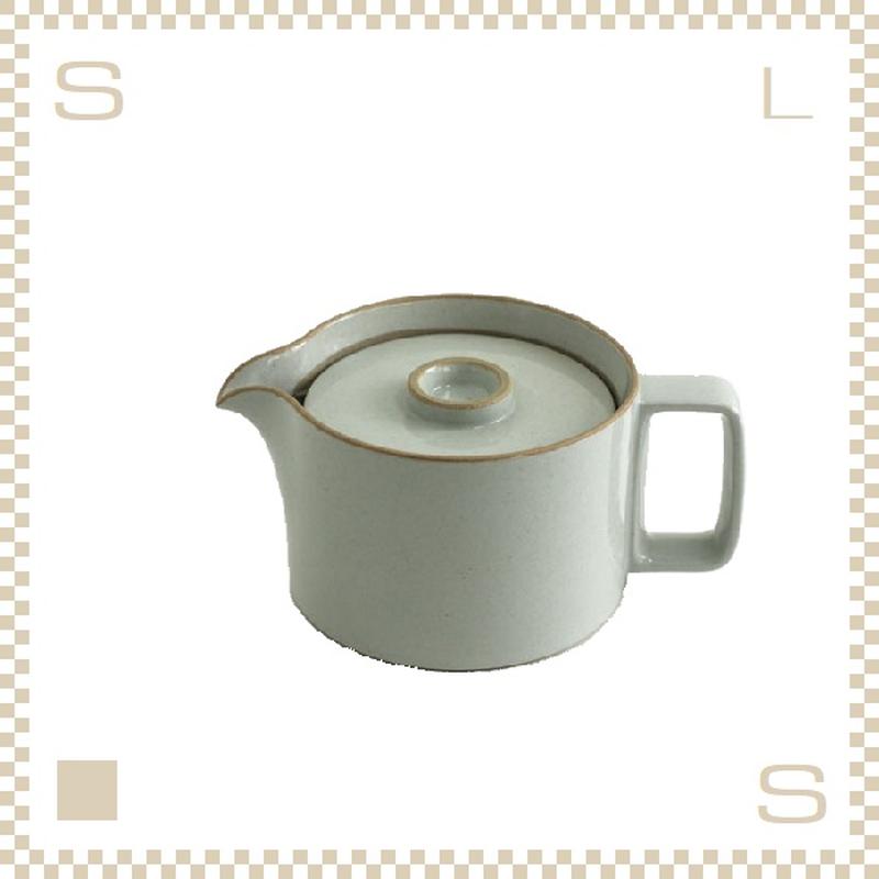 ハサミポーセリン ティーポット クリア グロス Φ145/H106mm スタッキング可 HPM018 Hasami Porcelain