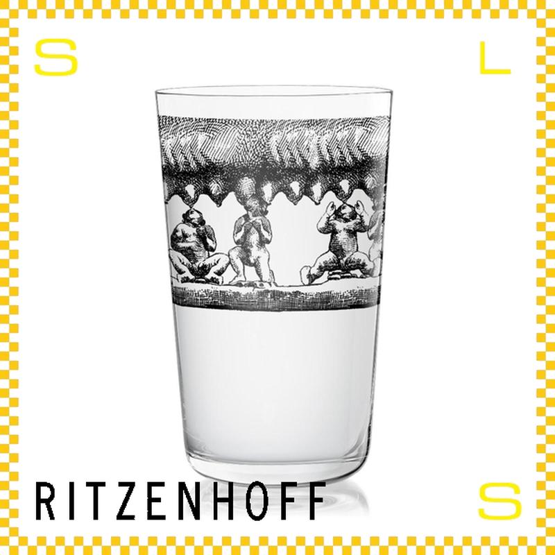 RITZENHOFF リッツェンホフ ミルクグラス 250ml 壁画風 アリナ・レヴィ Φ77/H128mm タンブラー ギフト  ritz-3500007