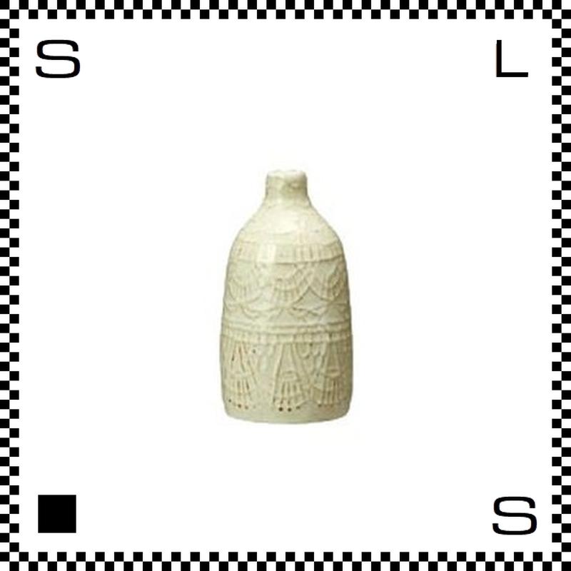 essence エッセンス フラワーベース ドイリー Sサイズ W6/H11.5cm 花瓶 一輪挿し 波佐見焼 日本製