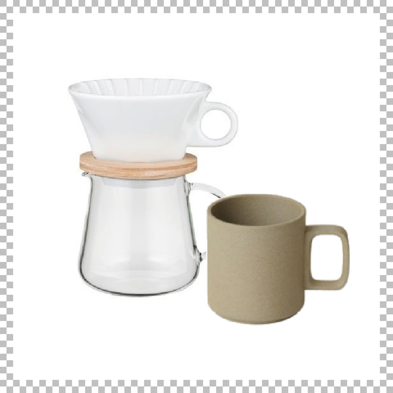 SNOWTOP COFFEE series スノウトップ コーヒーポット&ドリッパーセット 400ml & HASAMI PORCELAIN マグカップ Mサイズ ナチュラル