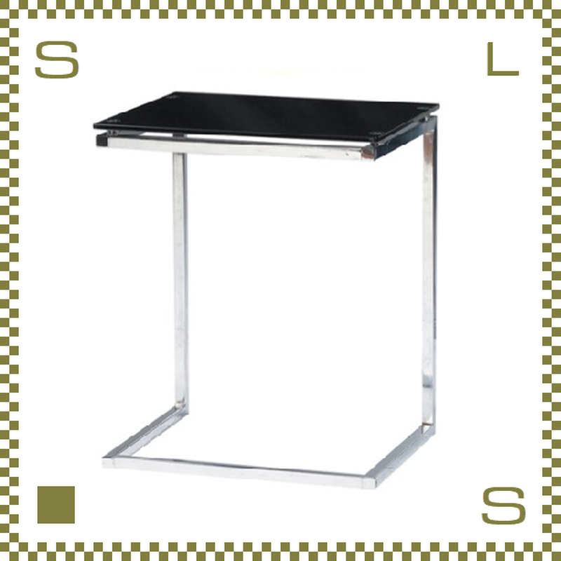 ガラステーブル ブラック W100/D50/H38.5cm オールガラステーブル ローテーブル センターテーブル azu-pt15bk