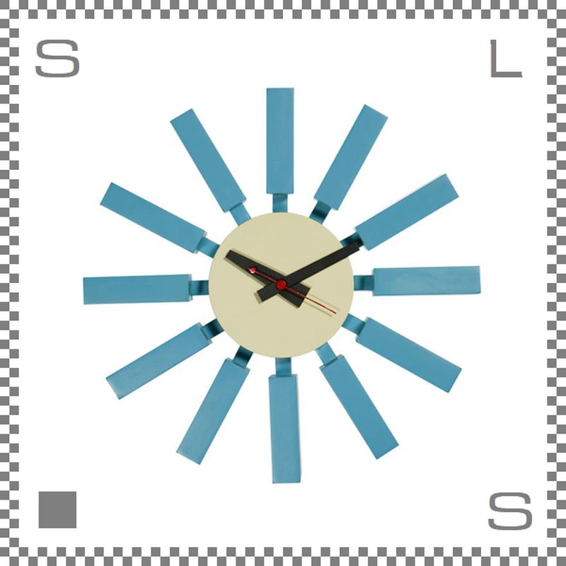 ブロッククロック ジョージネルソン 壁掛け時計 クロック ウォールクロック block clock george nelson