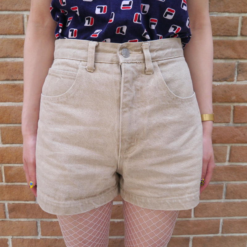 "90's ""GUESS"" denim short pants"