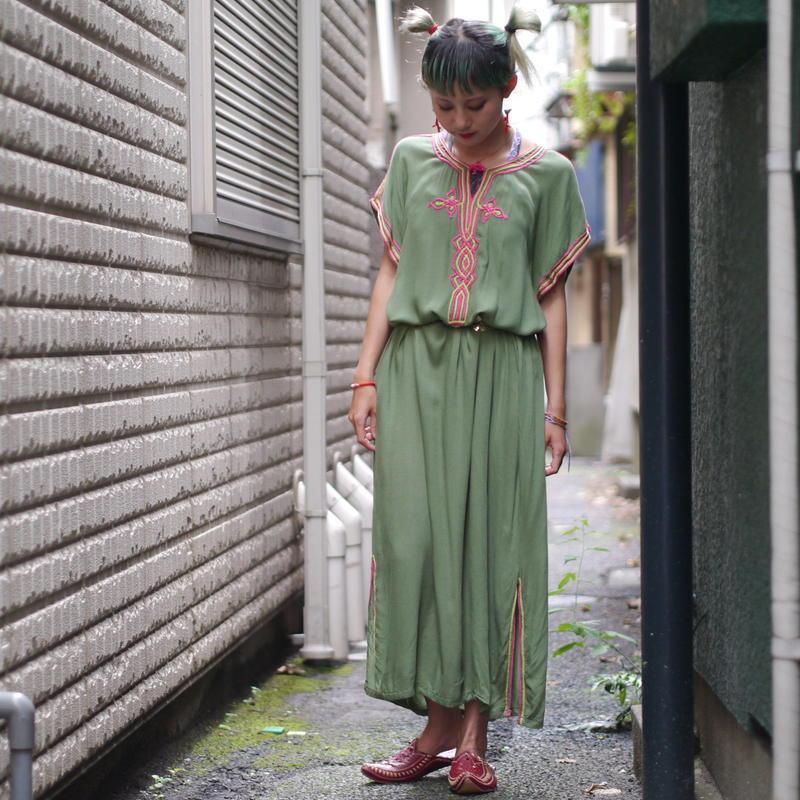 Rayon long dress