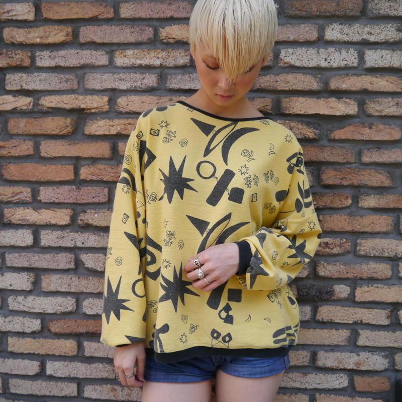 80s all pattern cut sew