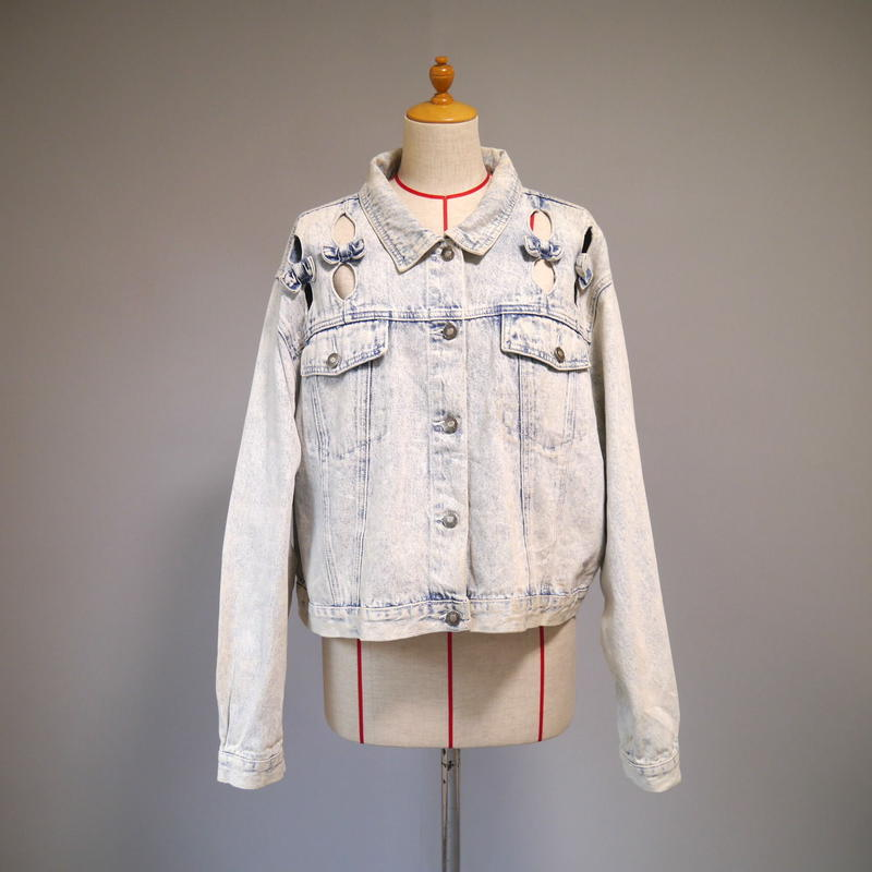 80s Design denim jacket