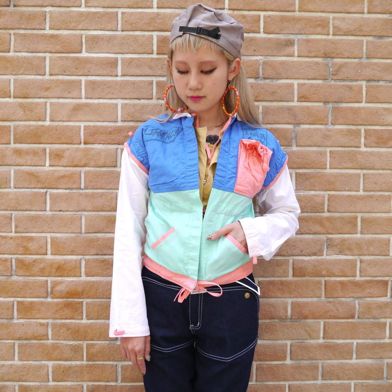 "80s ""JAKPAC!"" 3way jacket"