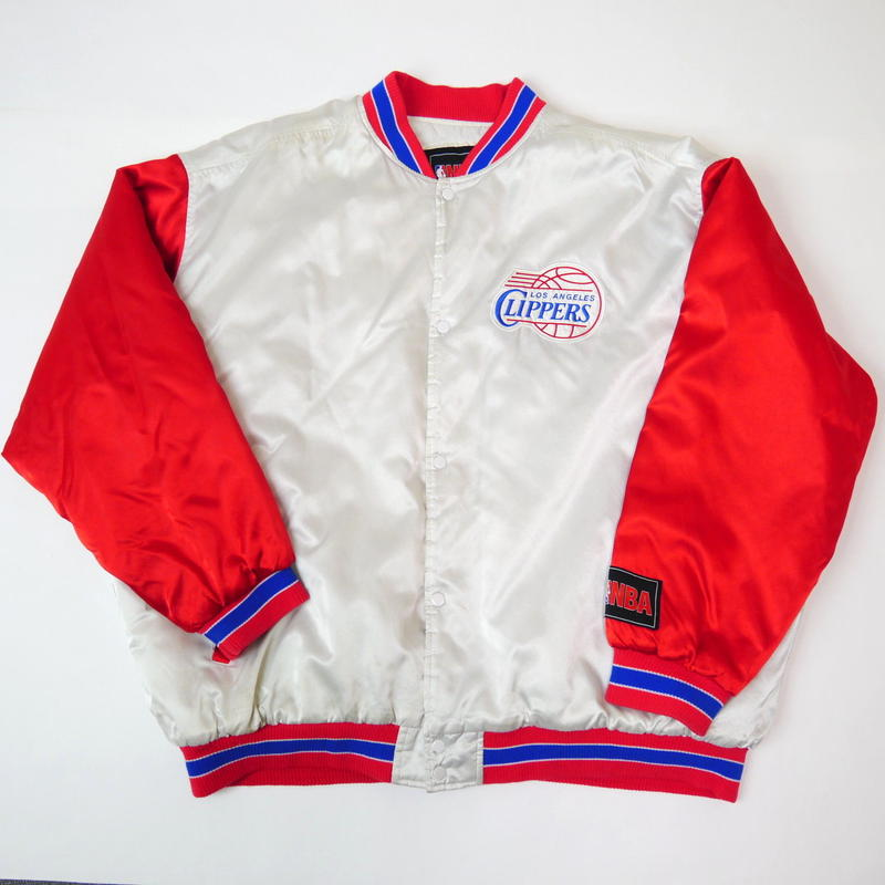 "'00 ""L.A. CLIPPERS"" stadium jacket"