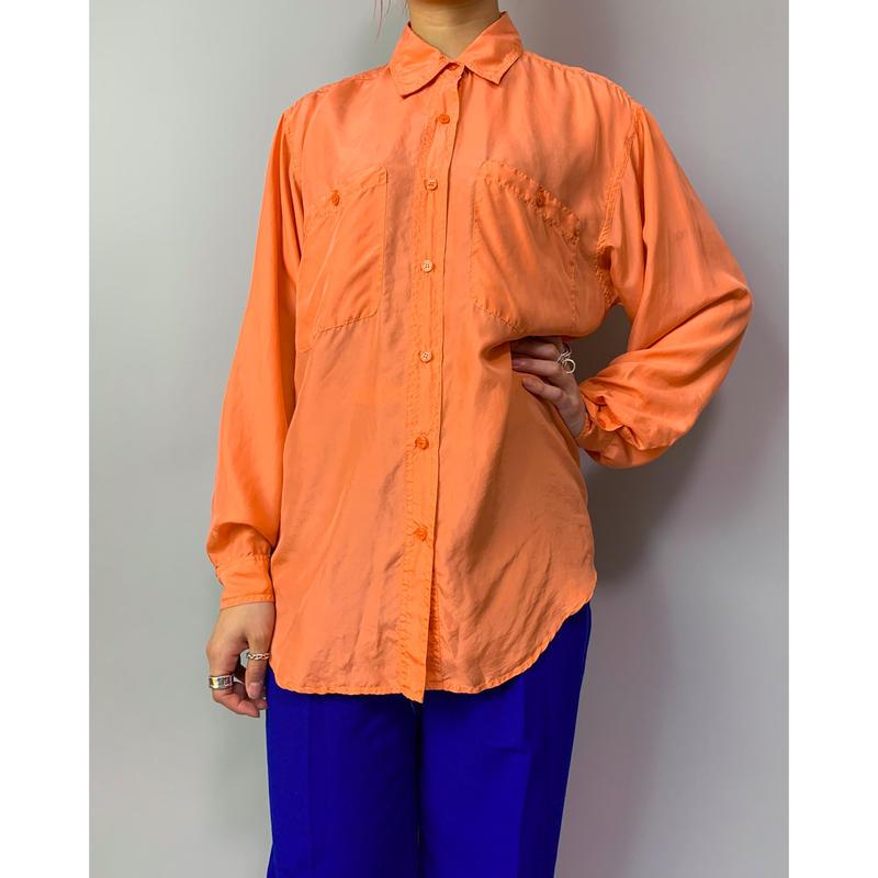 90年代 シルクシャツ