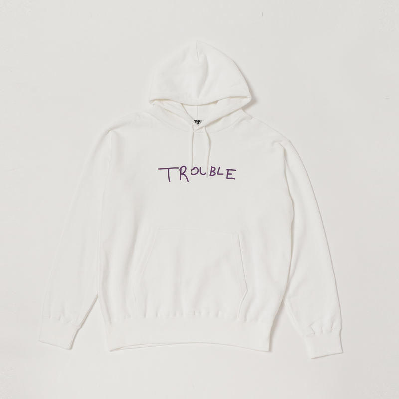 【19SS】TROUBLE  HOODIE