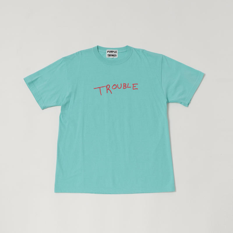 【19SS】TROUBLE  S/SL TEE