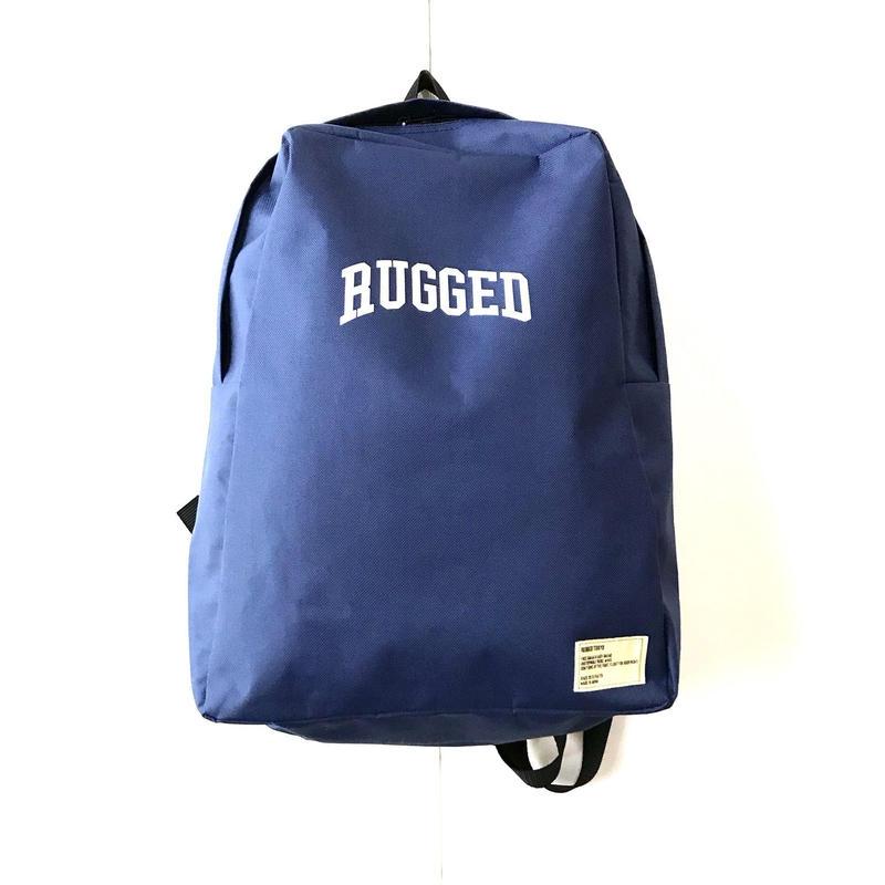 RUGGED ARCH LOGO daypack ネイビー