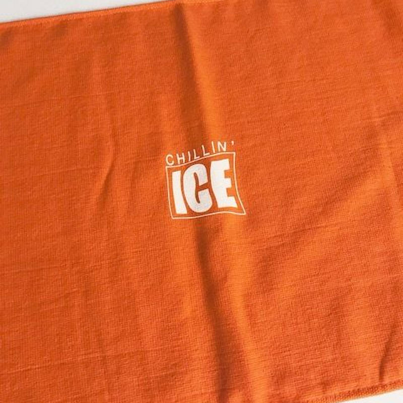 MURO × RUGGED CHILLIN' ICE 2018 mix cd (towel set/オレンジ×ホワイト)