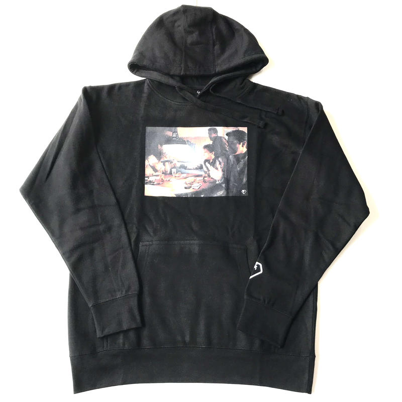 【ラス1】Modestion LA GOOD FELLAS sweat hoodie ブラック M