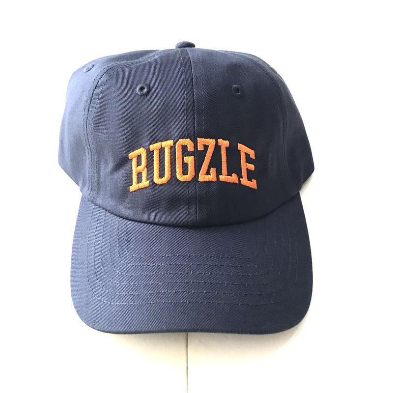 【ラス1】PUZZLE×RUGGED RUGZLE adjuster cap ネイビー×オレンジ