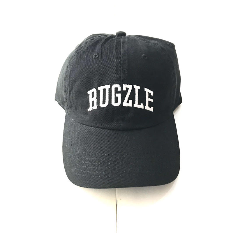 PUZZLE×RUGGED RUGZLE adjuster cap ブラック×ホワイト