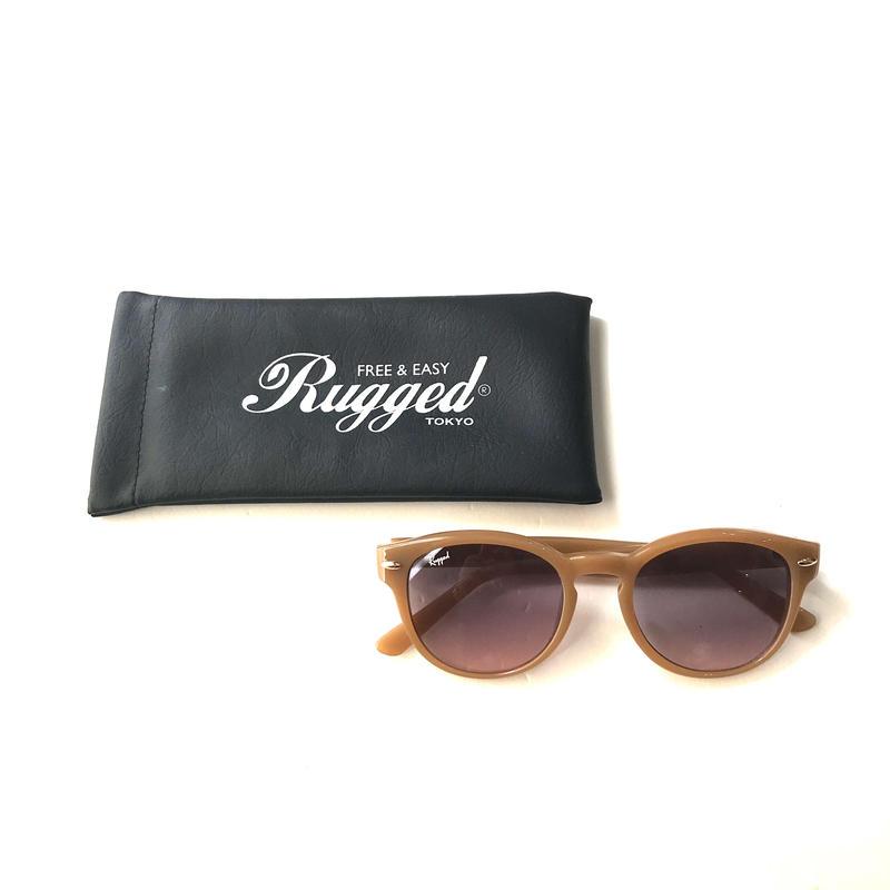 RUGGED Bosllington sunglasses ベージュ