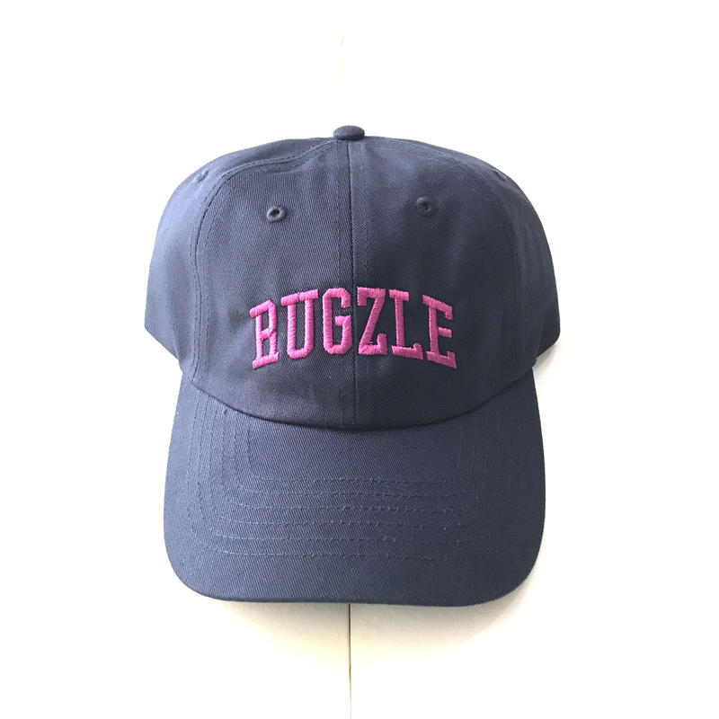 PUZZLE×RUGGED RUGZLE adjuster cap ネイビー×パープル