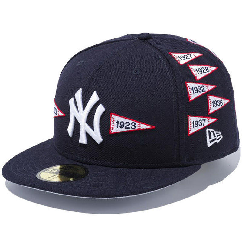 【ラス1】NEW ERA 59FIFTY Spike Lee Joint Pennant cap ネイビー 73/8