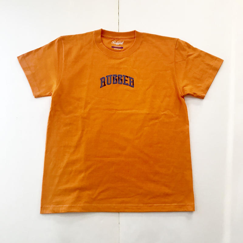 PUZZLE×RUGGED 6th ANNIVERSARY tee オレンジ