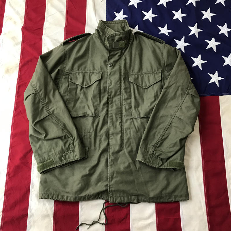【USED】M-65 military field jacket カーキ M
