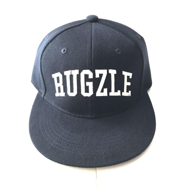 【ラス1】PUZZLE×RUGGED RUGZLE snap back ネイビー×ホワイト
