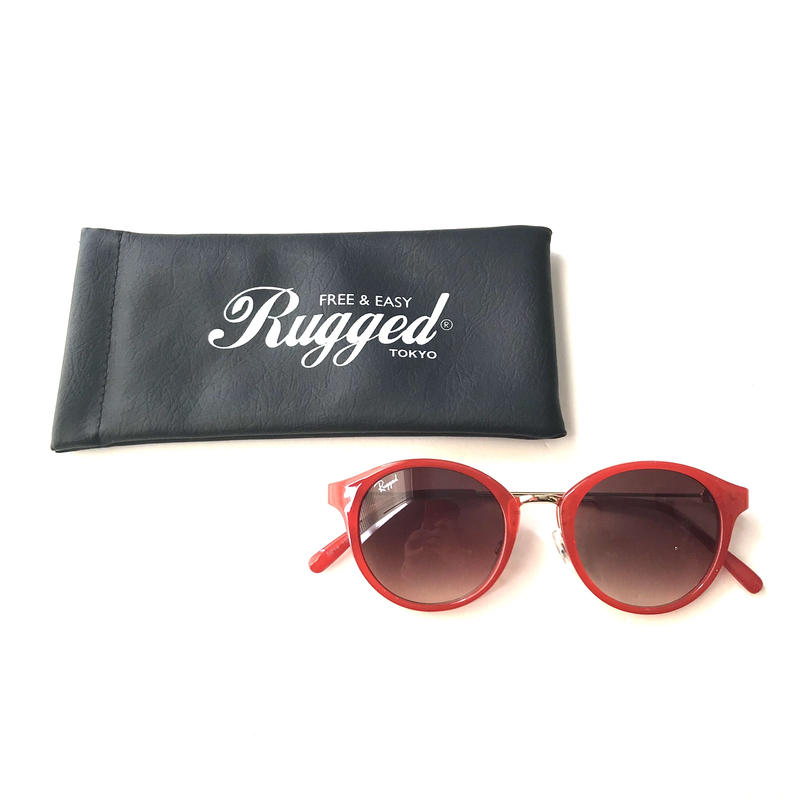 RUGGED Boston sunglasses レッド