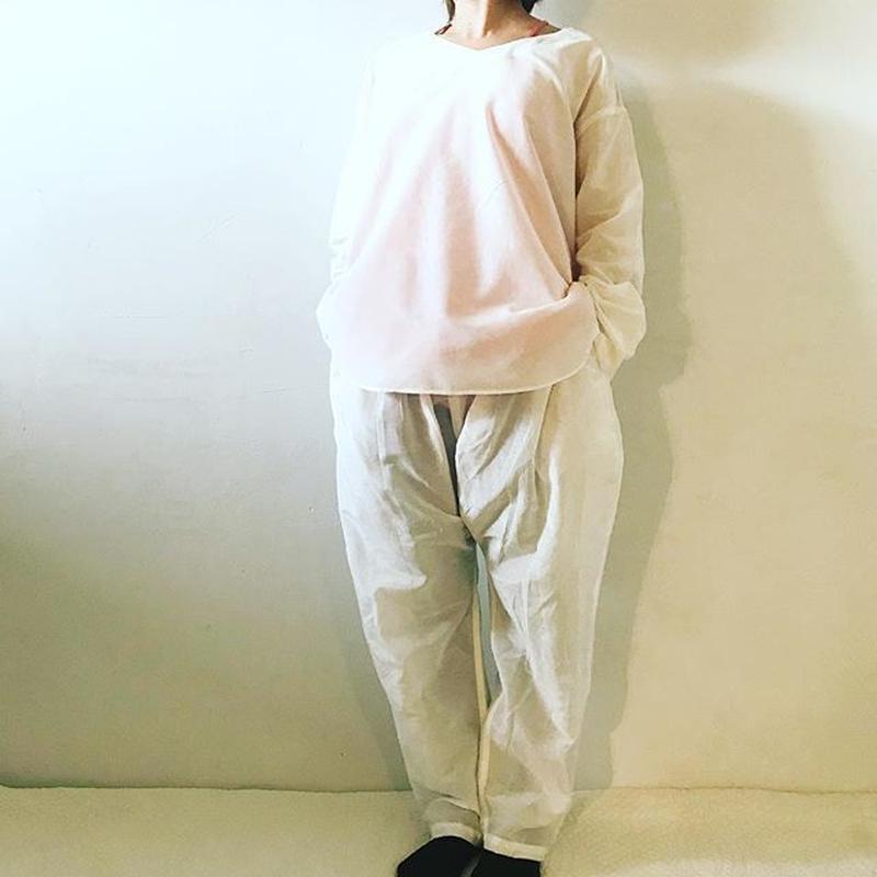 【4月キャンペーン】シルクコットンプルオーバー