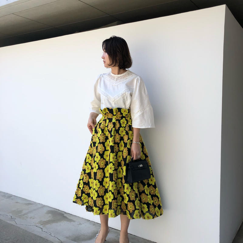 (original)flower skirt