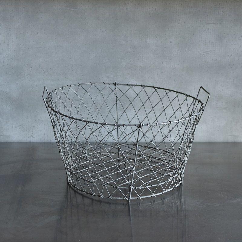 古道具部 ワイヤーバスケット