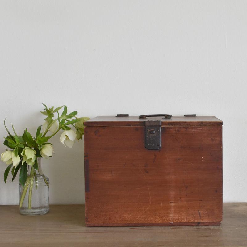 古道具部 杉の懸硯箱