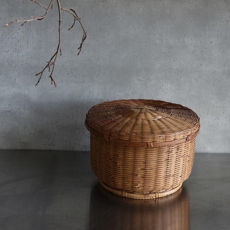 古道具部 竹の飯ひつ 小