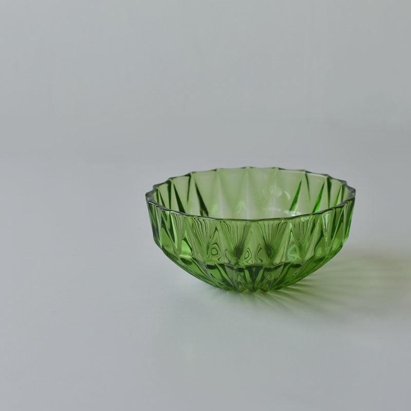 古道具部 ガラス鉢 グリーン