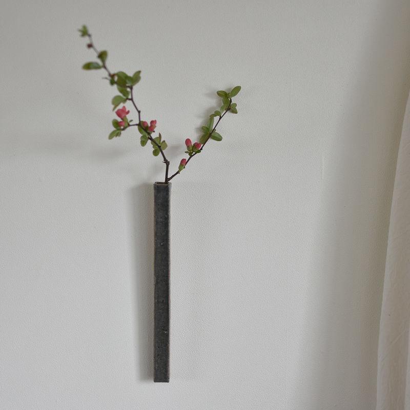 たくまポタリー 掛け花