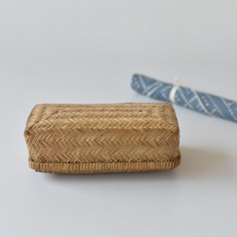 古道具部 竹行李の小さな弁当箱