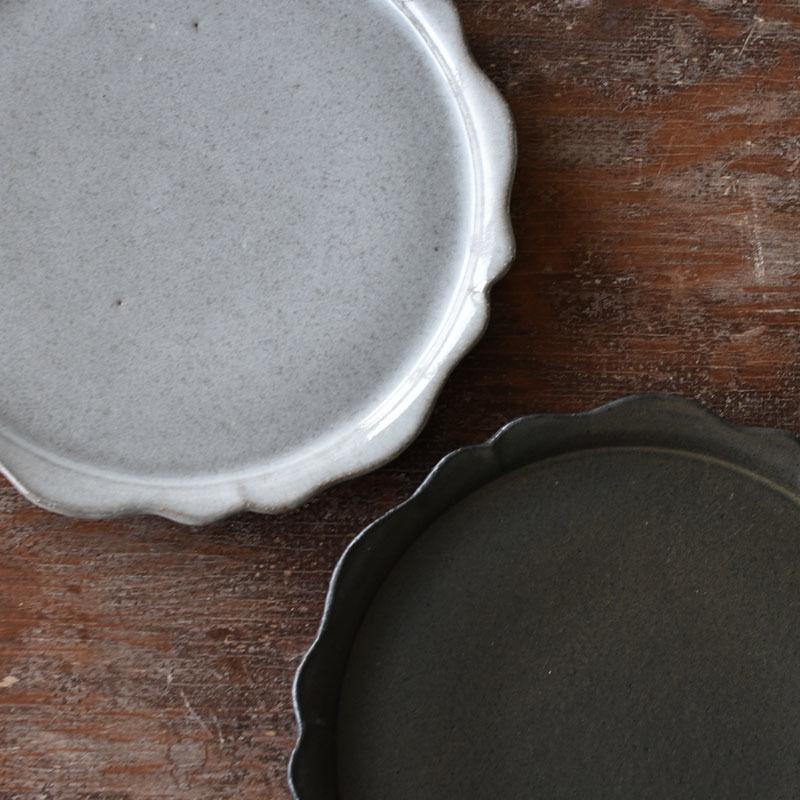 たくまポタリー リンカ 8寸皿
