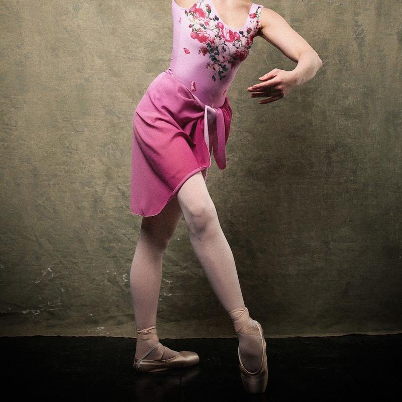 [Ballet Maniacs] Nijinsky Wrap Skirt Le Spectre de la Rose