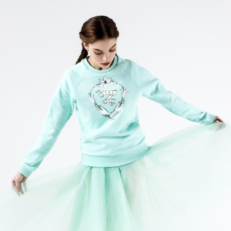 [Ballet Maniacs] Sweatshirt Girl Power